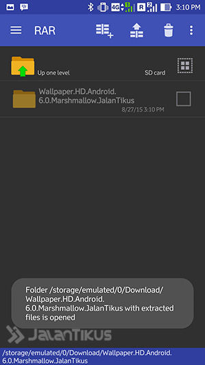 How to Extract Zip Files Using RAR for Android