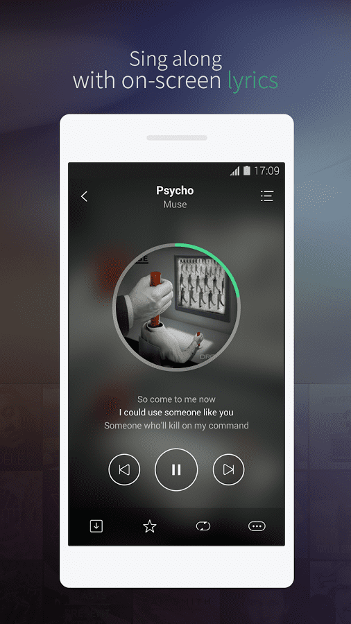 joox streaming music player
