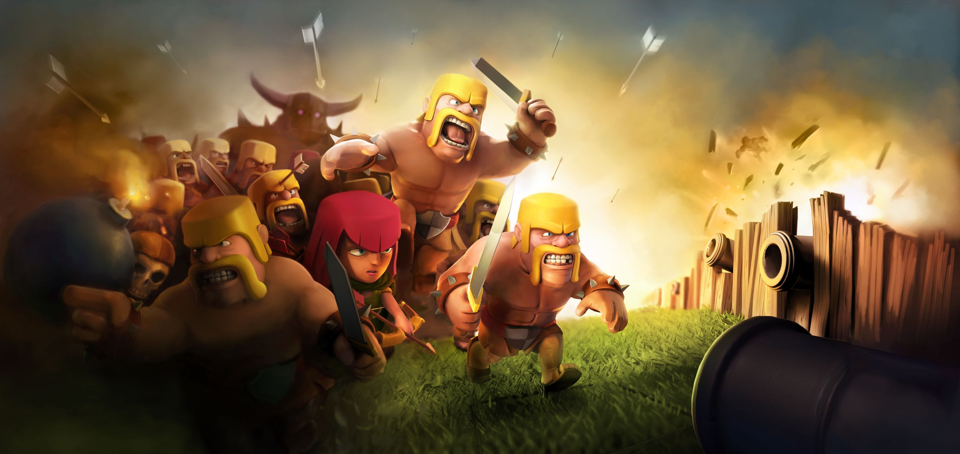 60 Wallpaper HD Android Clash Of Clans COC Terbaru Part