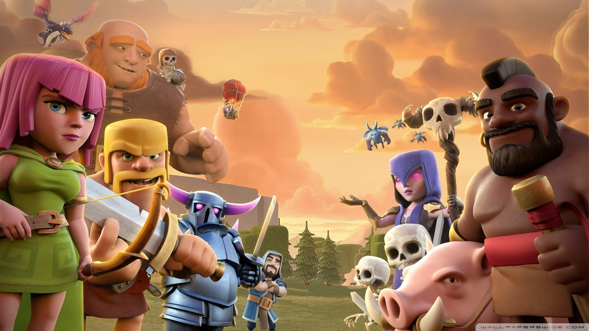 Wallpaper Hd Android Clash Of Clans