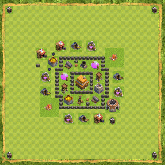 base-defense-coc-th-4-14