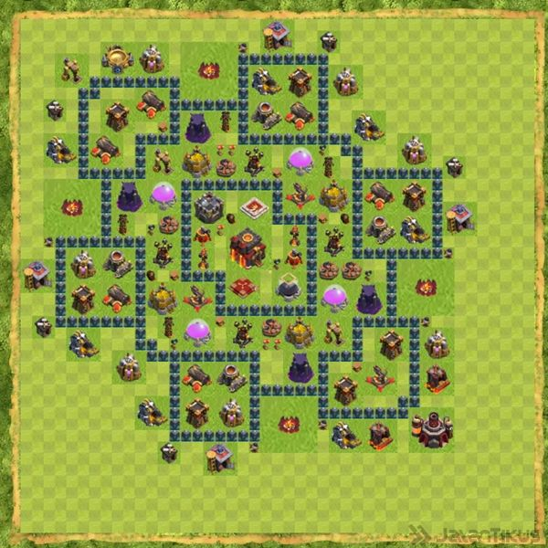 base-defense-coc-th-10-terbaru-1