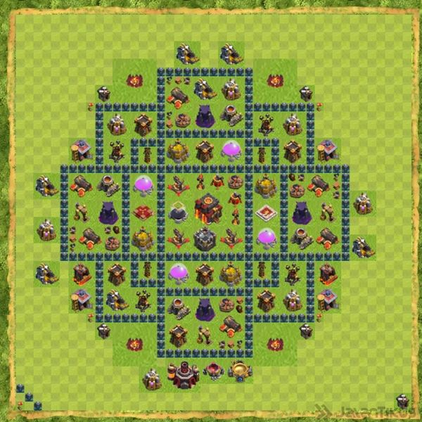 base-defense-coc-th-10-terbaru-3