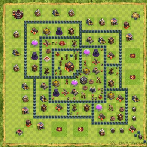 base-defense-coc-th-10-terbaru-9