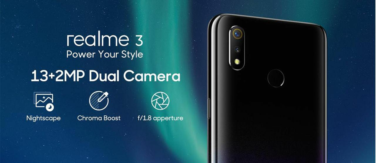 Kamera Realme C3