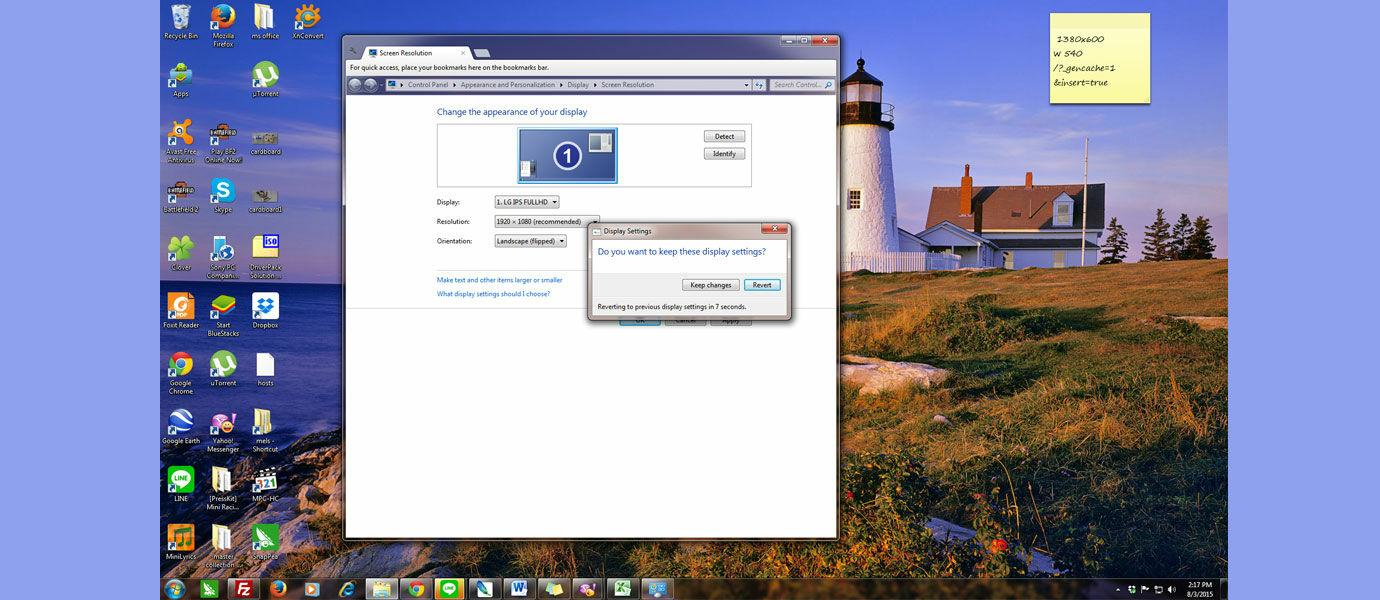 5 Cara Mengubah Rotasi Layar Laptop atau PC - JalanTikus.com