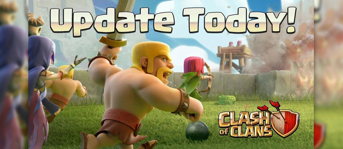 clash of clans versi lama
