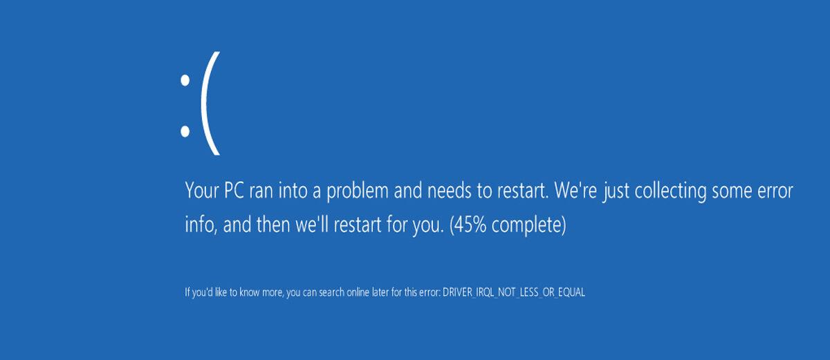Cara Mengatasi Laptop Restart Sendiri Akibat Blue Screen Of Death