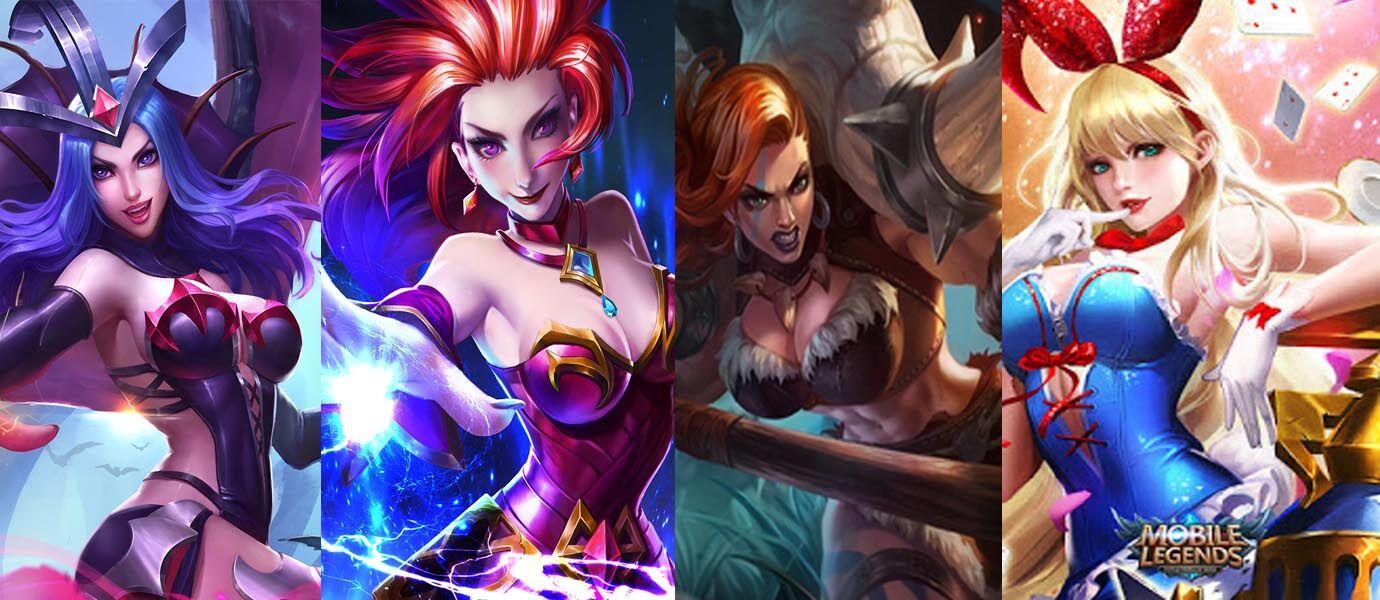 Seksi Abis 8 Penampakan Hero Wanita Mobile Legends Ini