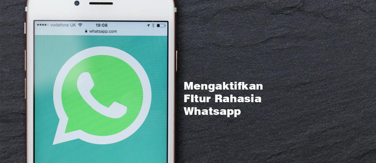 Cara Mengaktifkan Fitur RAHASIA di Whatsapp - JalanTikus com
