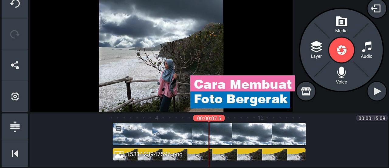 Cara Edit Background Foto Bergerak Di Android Step By Step