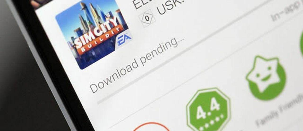 mengapa download di playstore tertunda