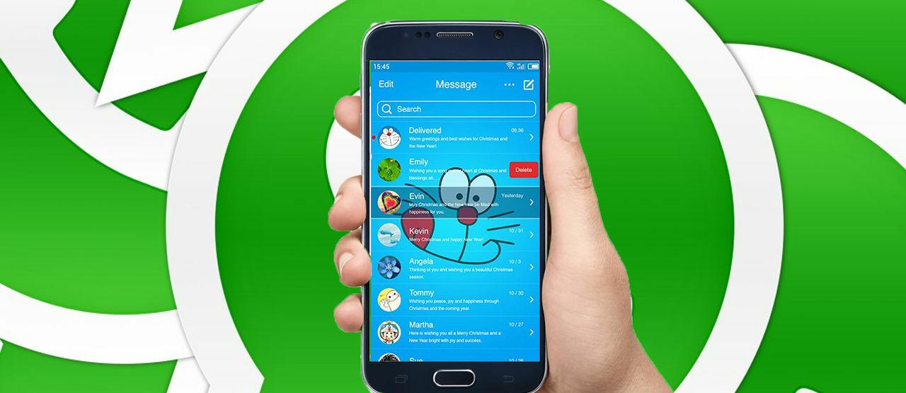 Cara Mengganti Tema Whatsapp Sesuai Keinginan Jalantikuscom