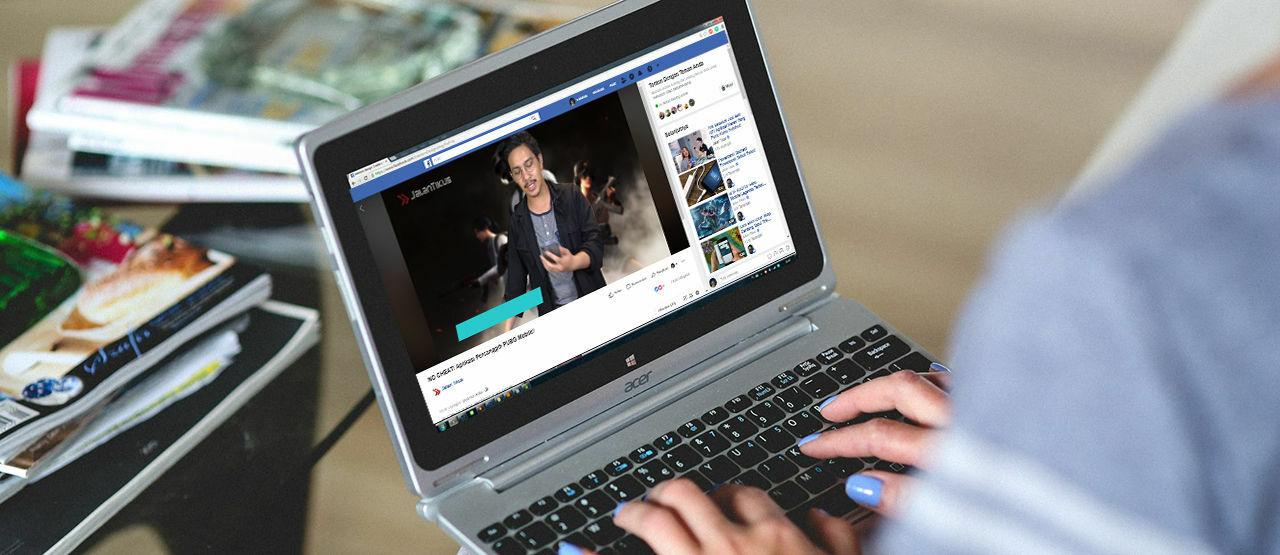 aplikasi download video facebook di laptop