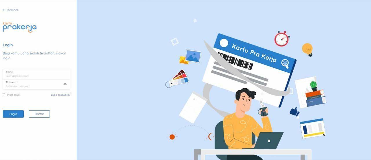 Cara Daftar Kartu Pra Kerja Online Gelombang Baru Jalantikus Com
