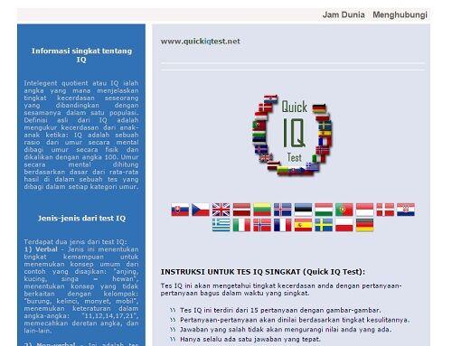 5 Situs Test Iq Online Bahasa Indonesia Terbaik 1