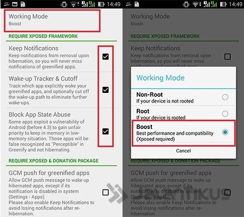 Cara Menambah Ram Android Dengan Hibernasi Aplikasi Menggunakan Greenify 3