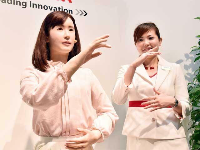 Robot Cantik Ini Bisa Berikan Bahasa Isyarat 2