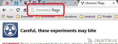 Cara Menghilangkan Tombol Nama Di Chrome Baru 2