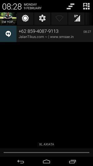 Cara Kirim Sms Gratis Di Android 2