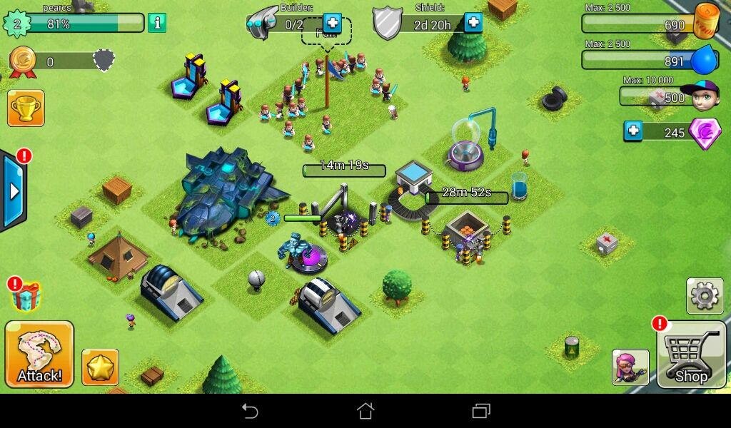 Review Game Clash Of Zombies 2