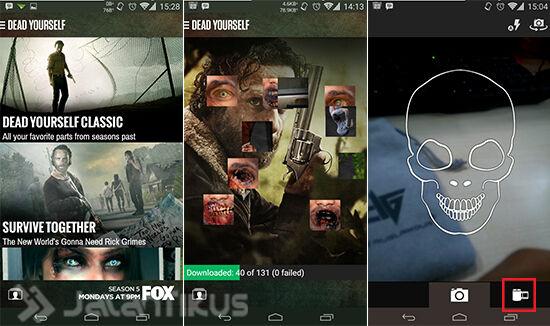 Cara Ubah Wajah Kamu Jadi Mirip Zombie Dengan Aplikasi The Walking Dead 1