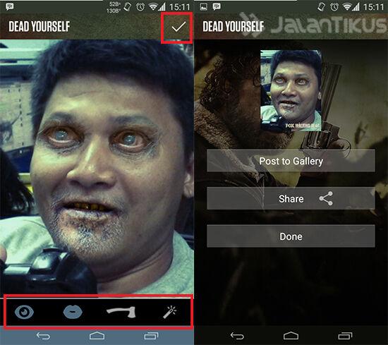 Cara Ubah Wajah Kamu Jadi Mirip Zombie Dengan Aplikasi The Walking Dead 2