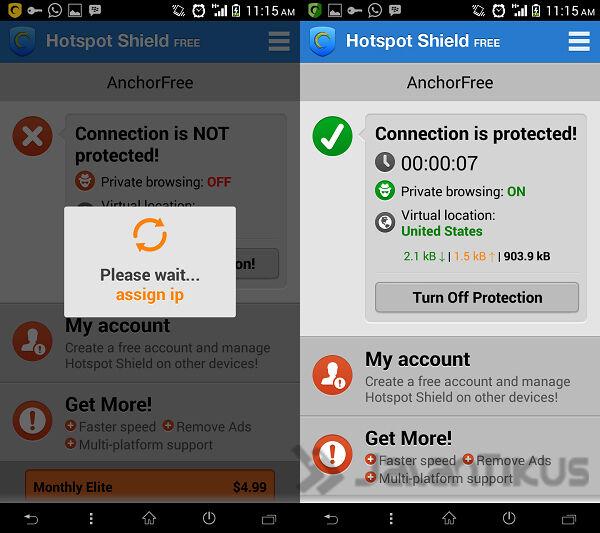 Cara Akses Website Yang Di Blokir Di Android 4