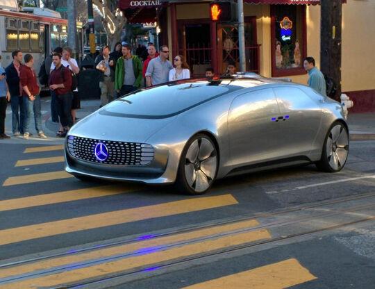 Mercedes F 015 Driverless San Fransisco