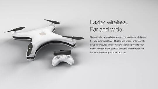 Apple Drone Sharing