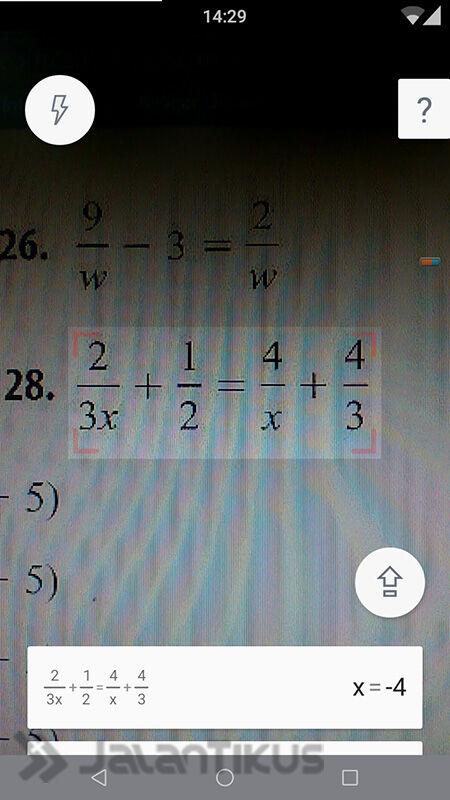Cara Menemukan Kunci Jawaban Soal Matematika Hanya Dengan Difoto 1