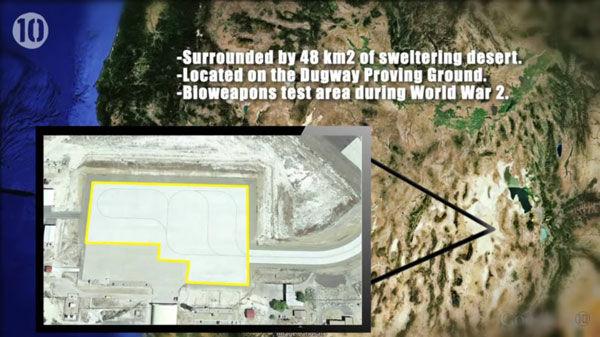 10 Tempat Yang Disembunyikan Google Earth 8