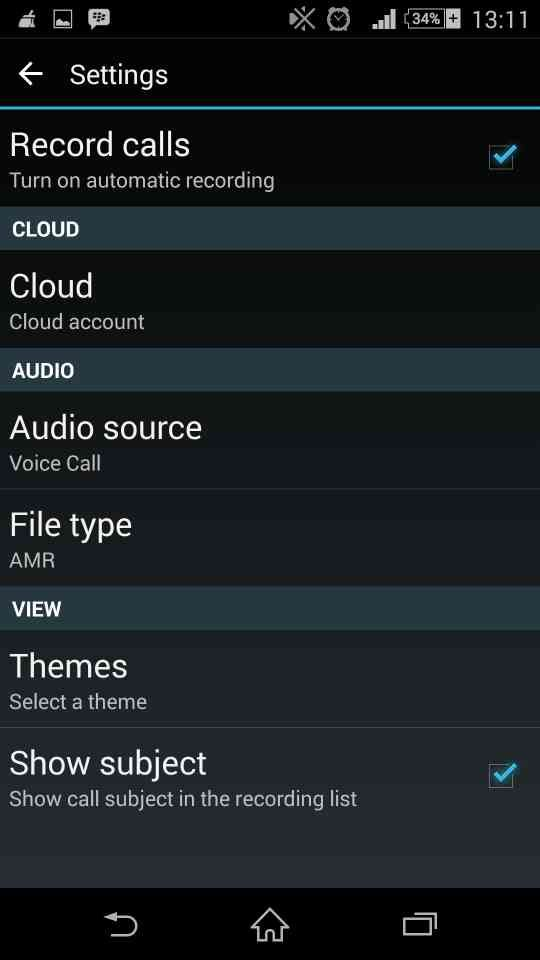auto call recorder 6