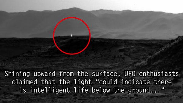 5 Foto Misterius Mars Ditemukan Dalam Penjelajan Curiosity 2