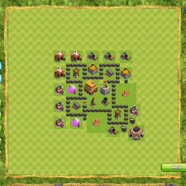 Clan War Th4 2