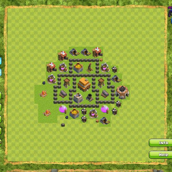 Clan War Th4 3