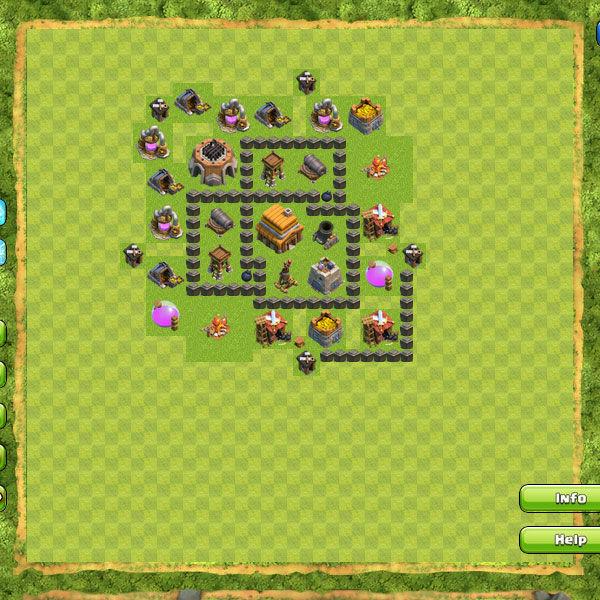 Clan War Th4 4