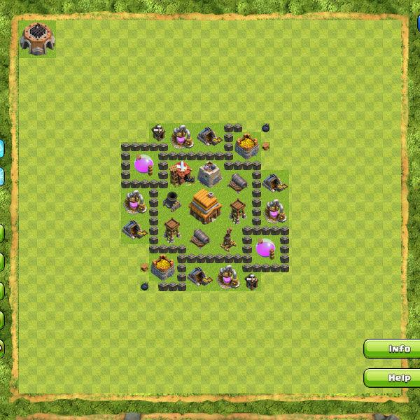 Clan War Th4 9