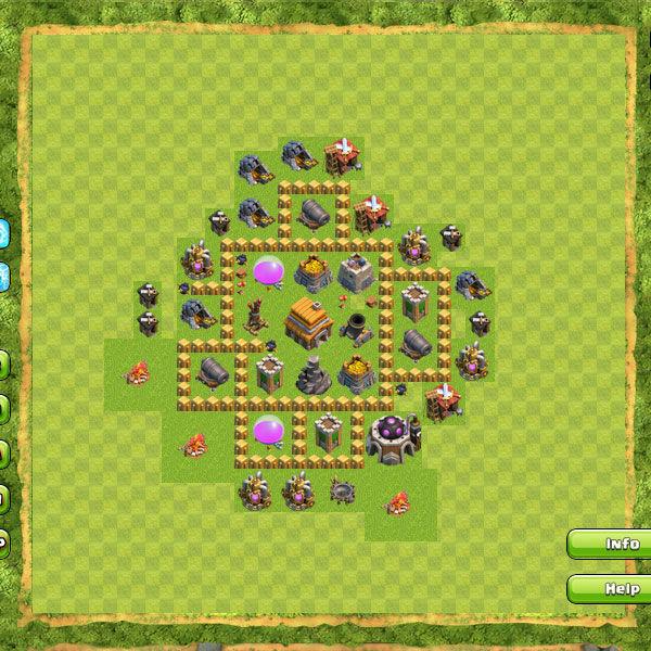 Clan War Th5 1