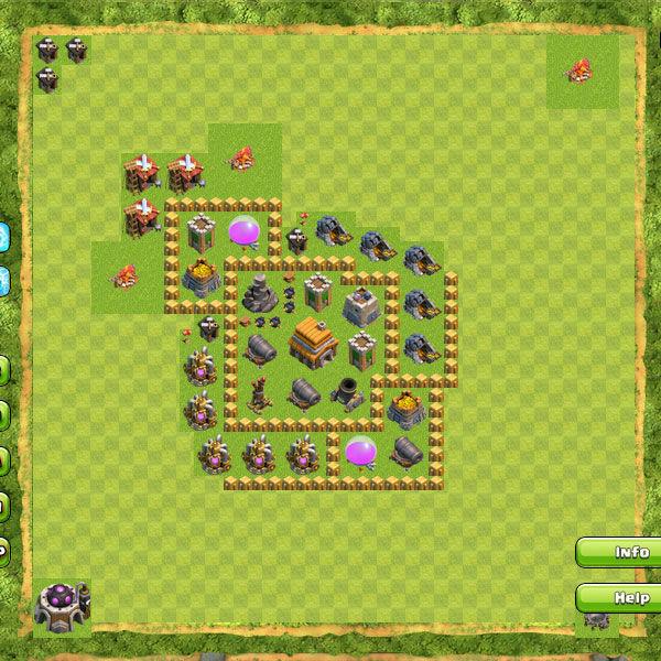 Clan War Th5 10