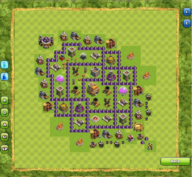 Clan War Th7 4