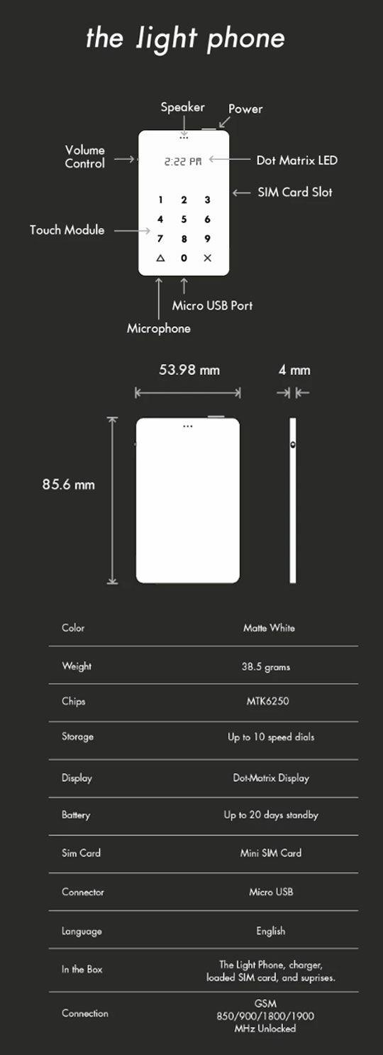 Light Phone Concept