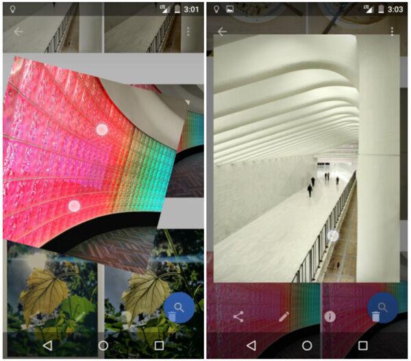 Screenshot Tampilan Android M 2