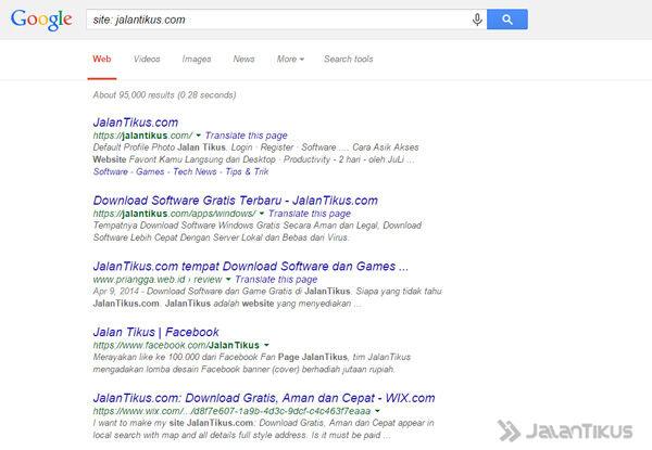 Trik Browsing Di Google Ini Pasti Menghemat Waktu Dan Kuota Internet 5