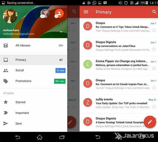 6 Aplikasi Email Terbaik Untuk HP Android Kamu ~ Berita