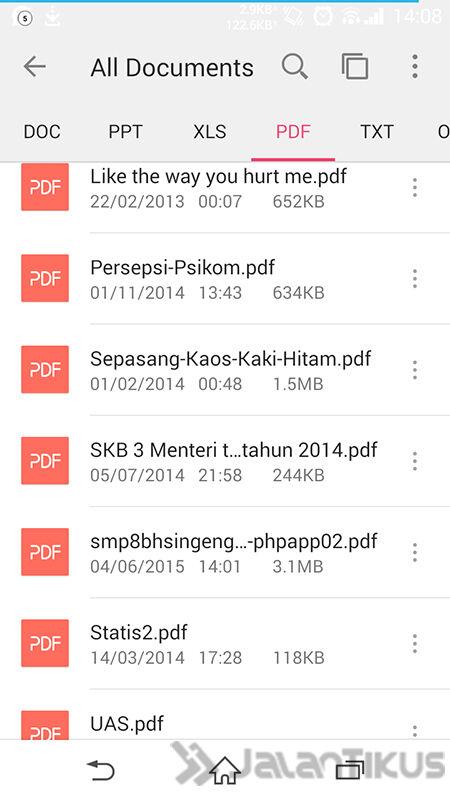 Membaca File Office Di Android 2