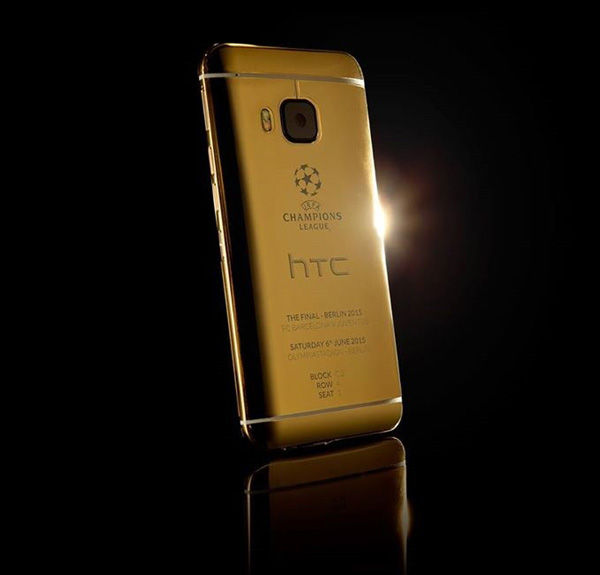 Htc One M9 Gold Final Liga Champion