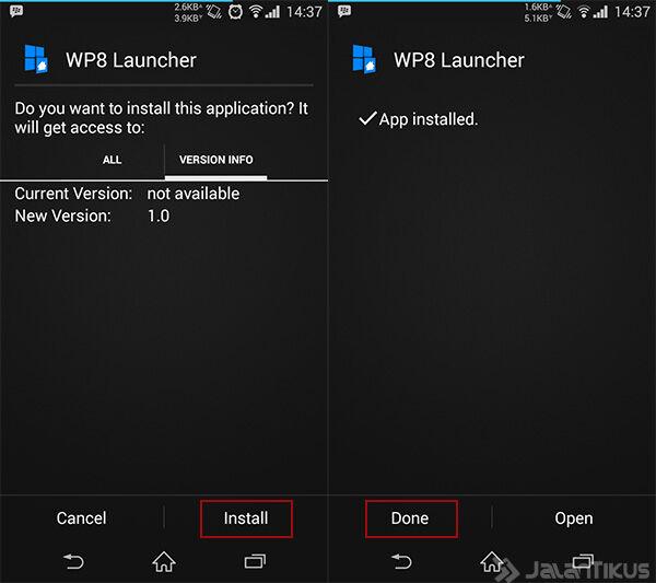 Ubah Android Jadi Windows8 1