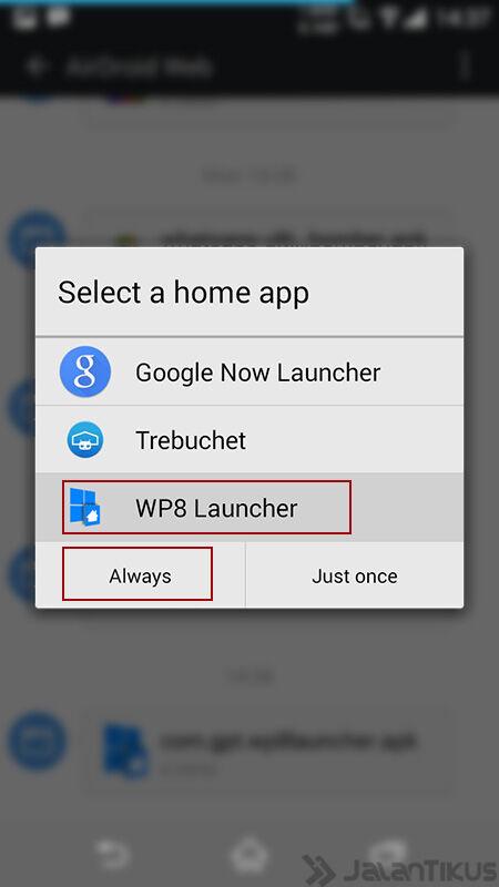 Ubah Android Jadi Windows8 2