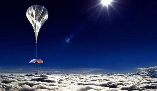 World View Baloon